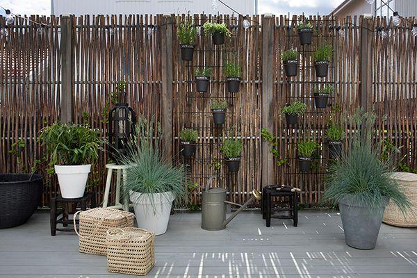 tuin ideeën verticaal tuinieren