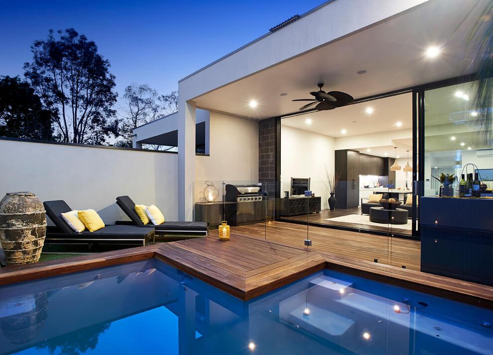 Tuin met zwembad uit Australië