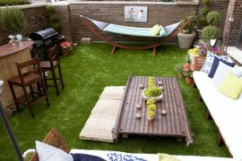 Tuin ontwerp met vakantiegevoel