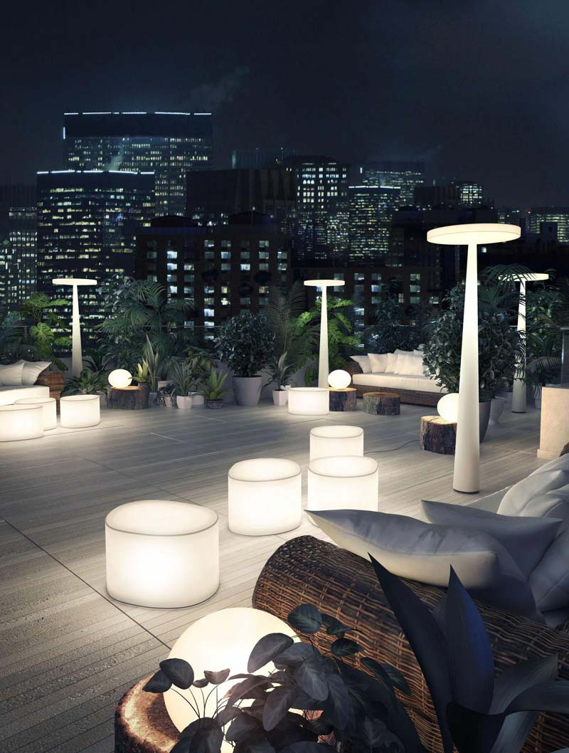 tuinverlichting inspiratie meubels