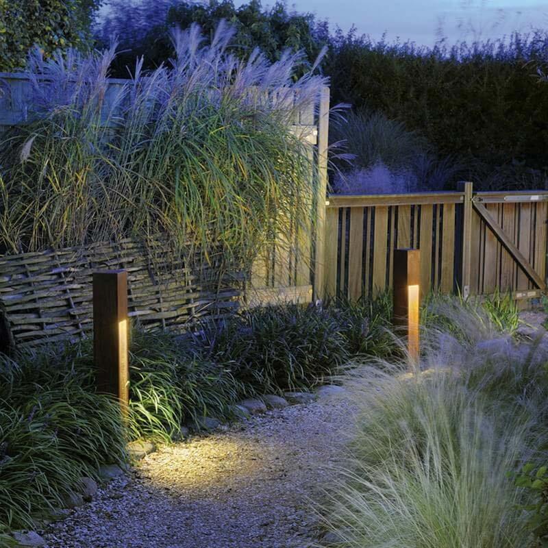 tuinverlichting inspiratie paaltjes