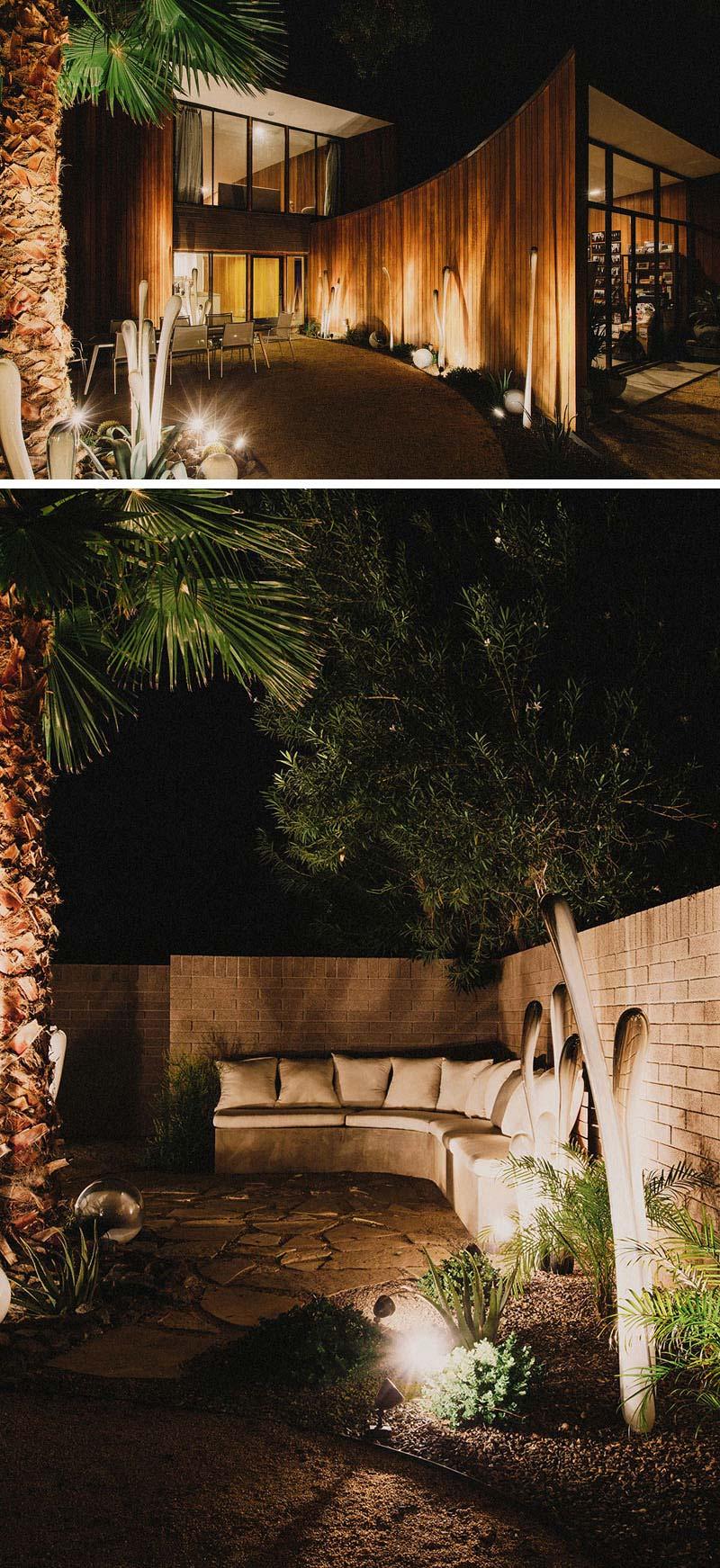 tuinverlichting inspiratie spotlights