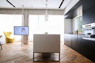 tv in de keuken
