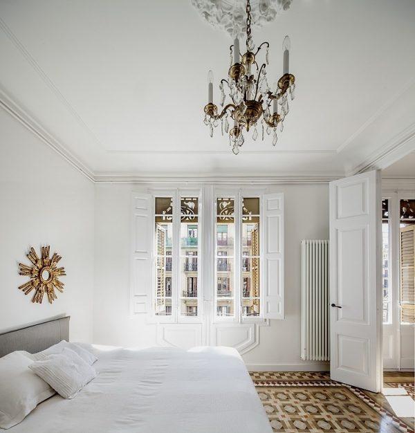Verbouwing historisch appartement in Barcelona