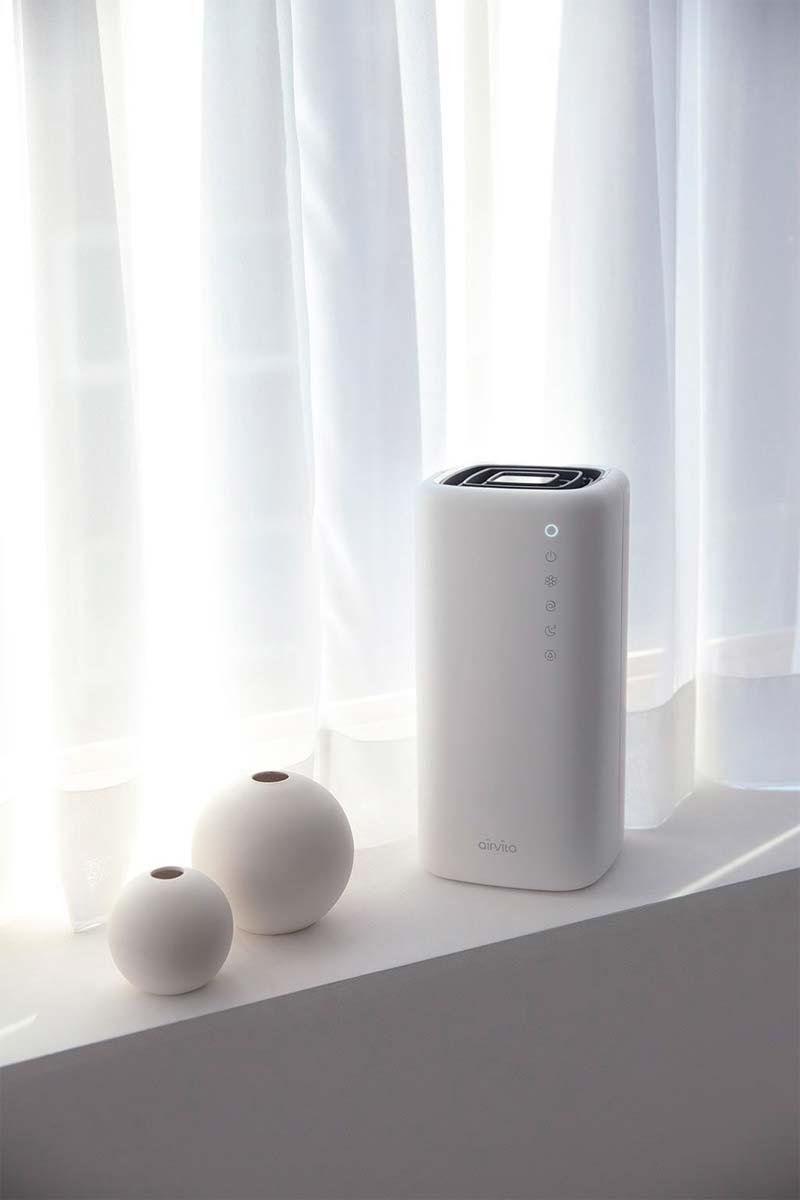 vieze geuren verwijderen in huis luchtreiniger