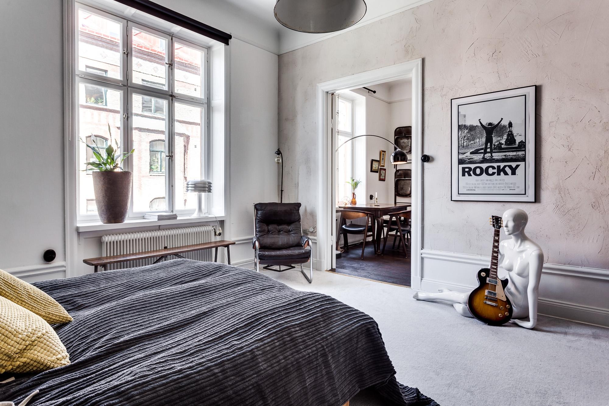 Industriele Slaapkamer Ideeen : In deze vintage slaapkamer vind je hele leuke en inspirerende