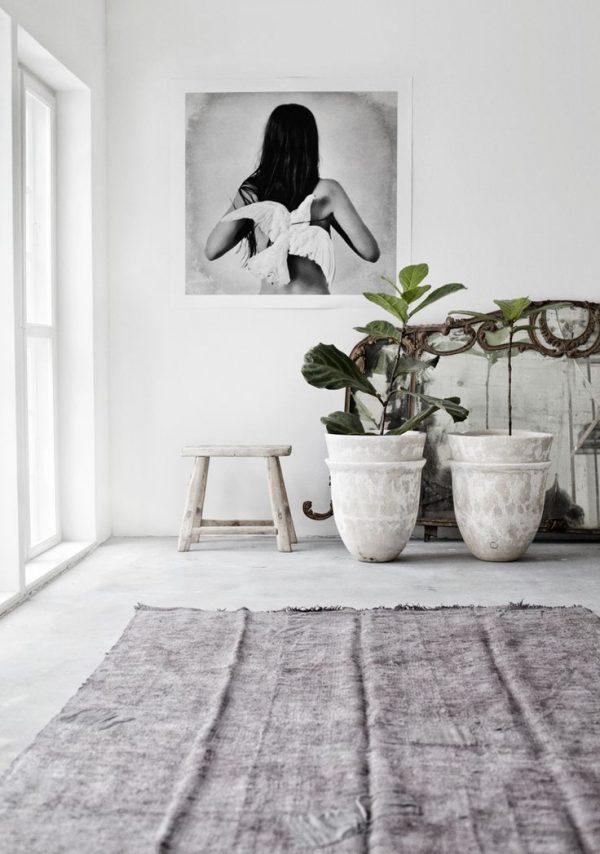 Vloerkleed in huis