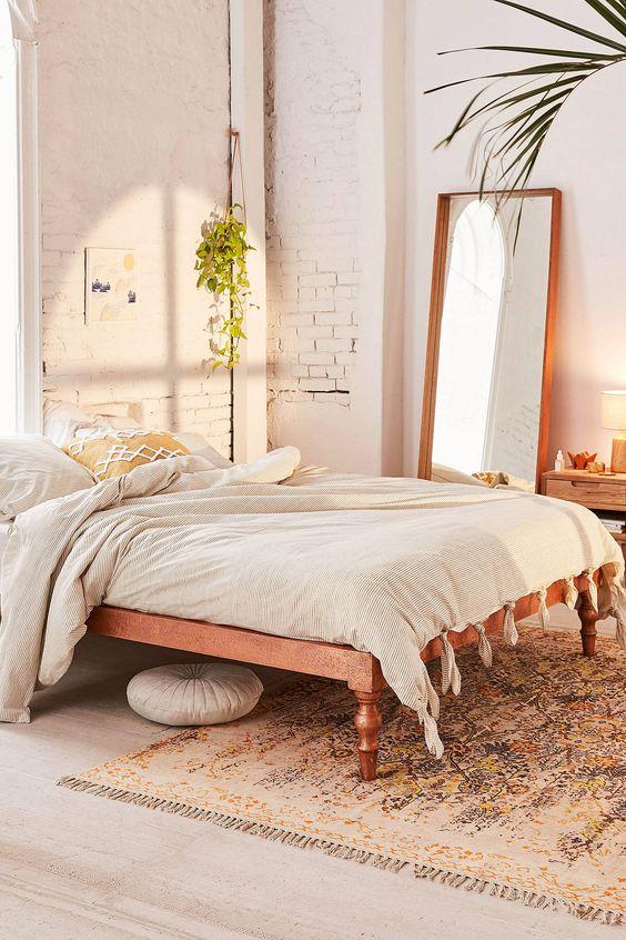 vloerkleed onder bed