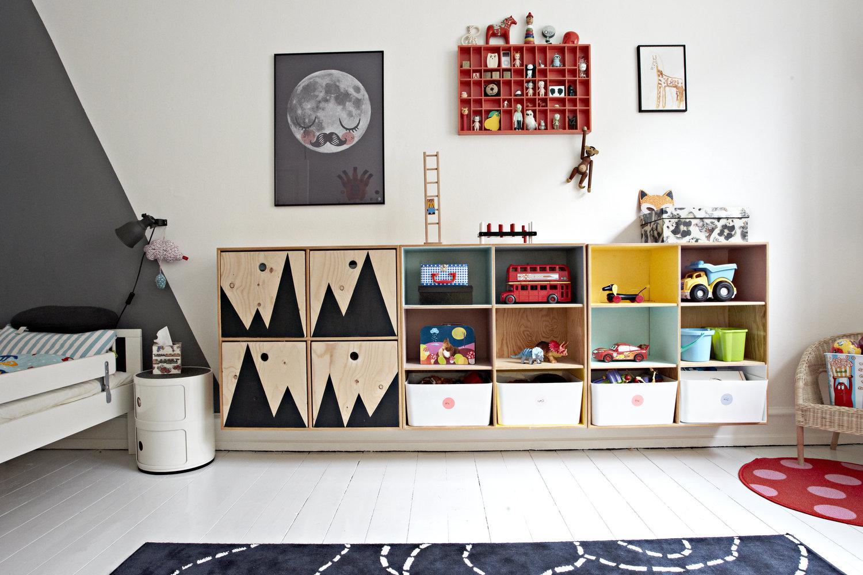 Simpele Vrolijke Kinderkamer : Vrolijke en kleurrijke kinderkamer van karl malte homease