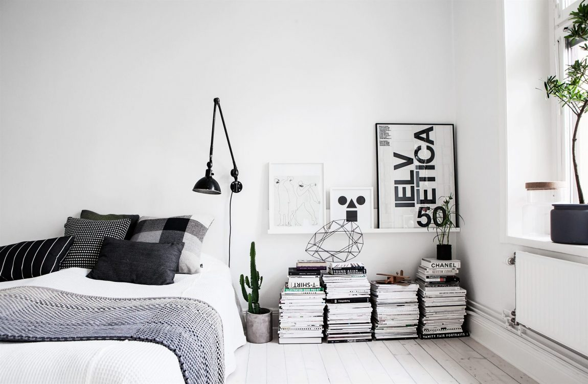 wanddecoratie ideeën slaapkamer