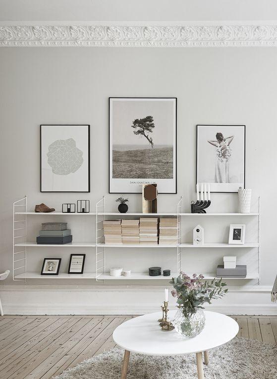 Wandplank ideeën woonkamer