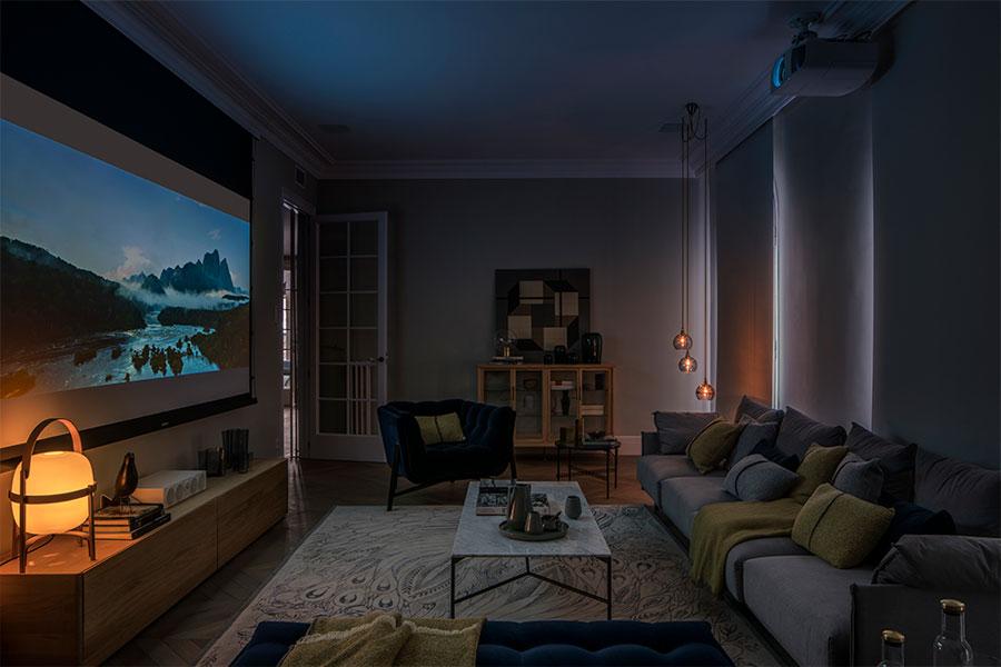 Warme knusse woonkamer uit Barcelona