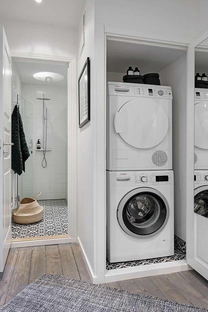 Kleine fijne praktische badkamer | HOMEASE