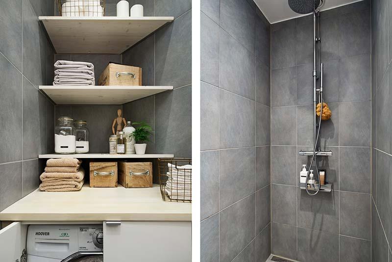 wasmachine kleine badkamer