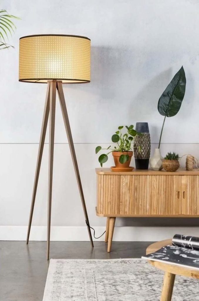 webbing meubels zuiver tripod lamp
