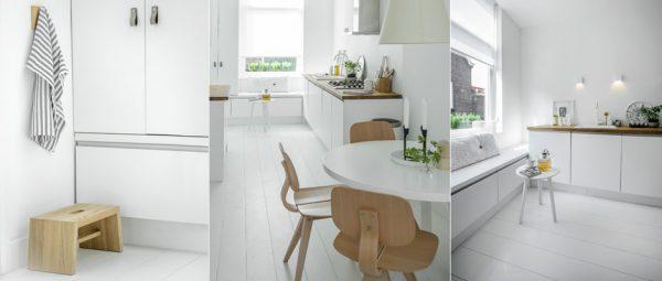 Wit huisje in Delft