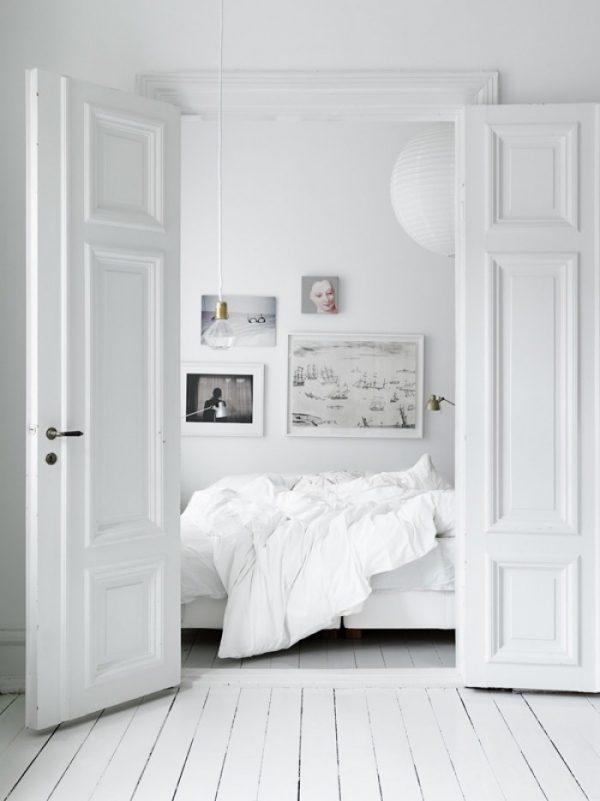 Witte dubbele binnendeuren
