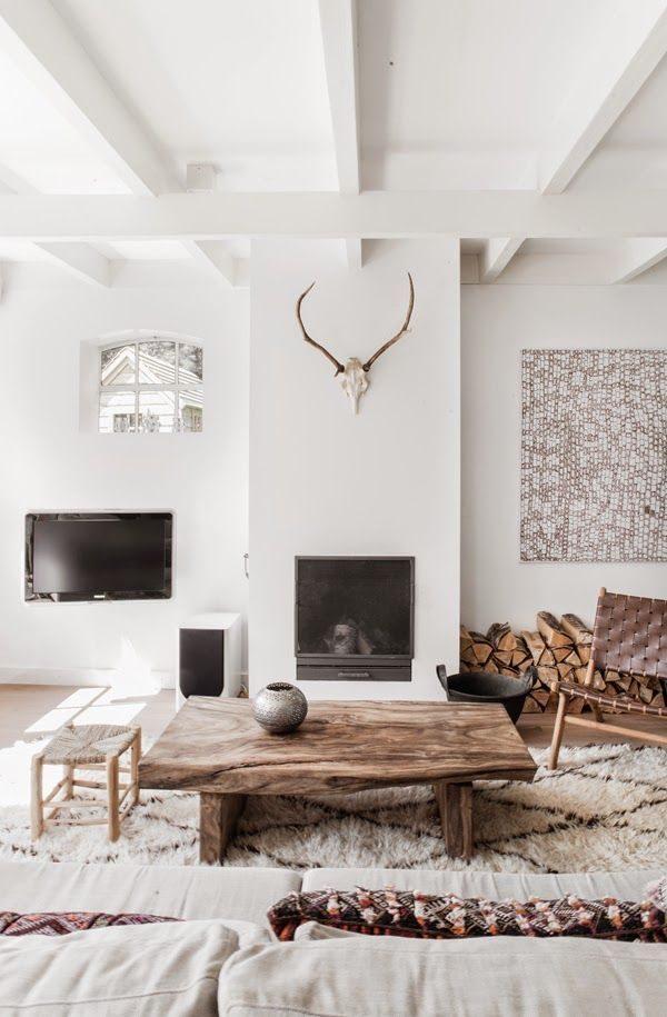 Zwarte Muur In Woonkamer. Awesome Witte Zwarte Of Grijze Muren With ...