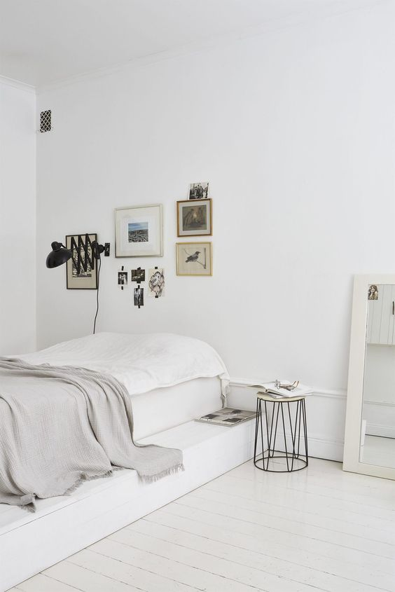 witte-muur-slaapkamer