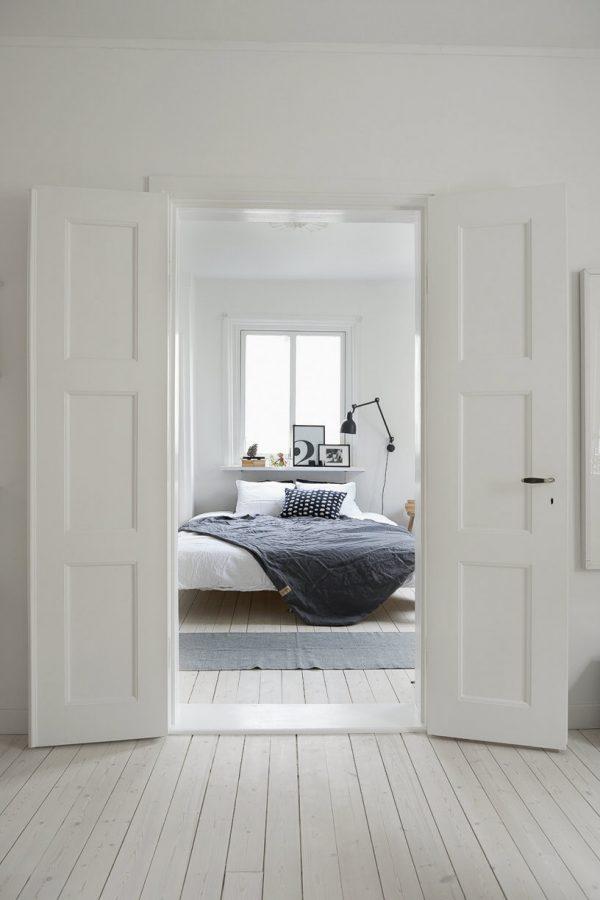 Witte openslaande deuren