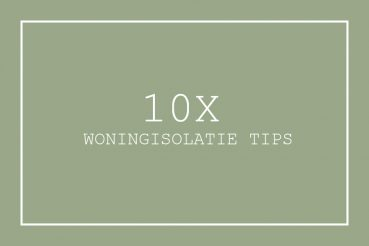 woningisolatie tips