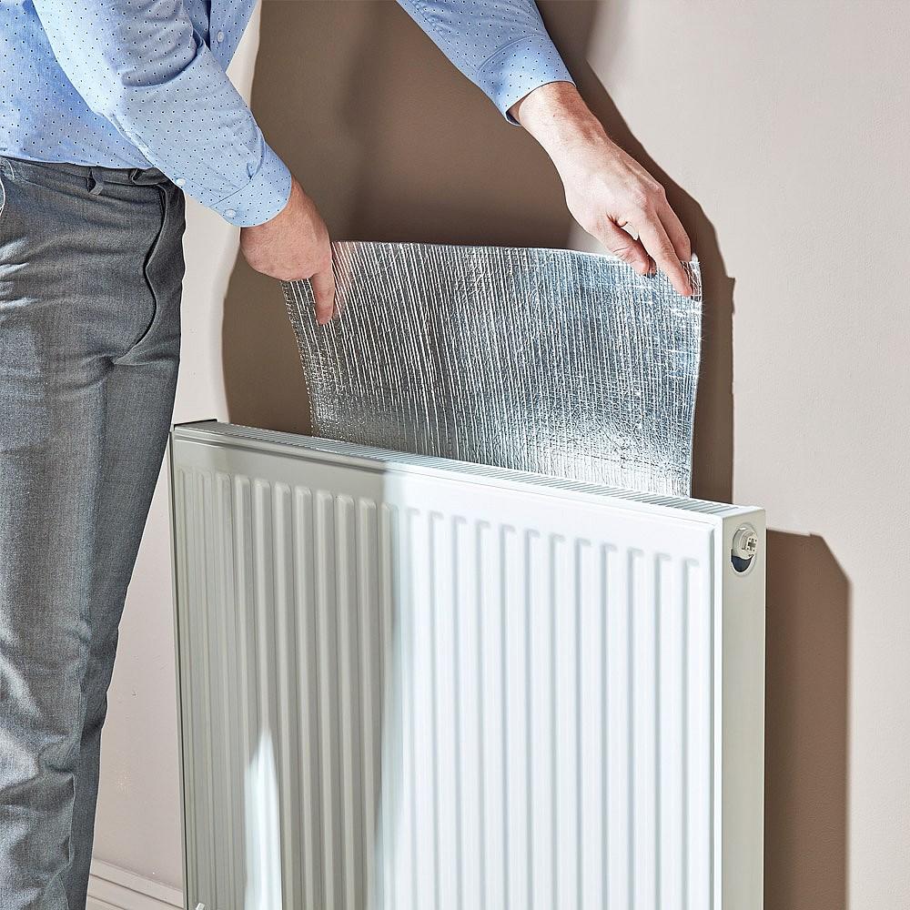 woningisolatie tips radiator folie