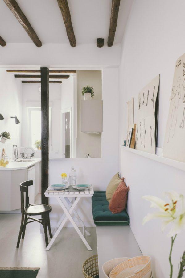 Woonkamer vloer verhogen: vloer betonvloer woonkamer verven keuken.