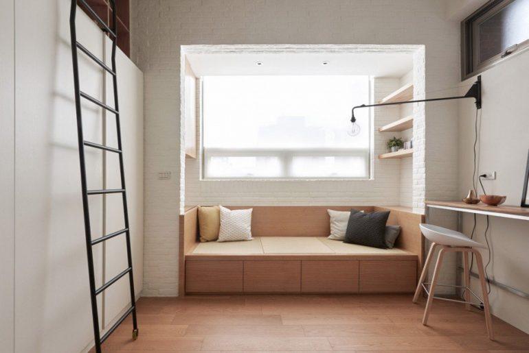woonkamer ideeen bank op maat in kleine woonkamer