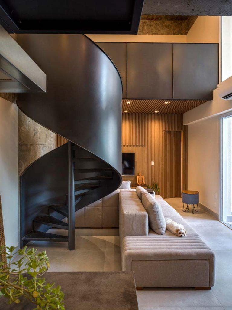 woonkamer ideeen - Mooie woonkamer met grote loungebank