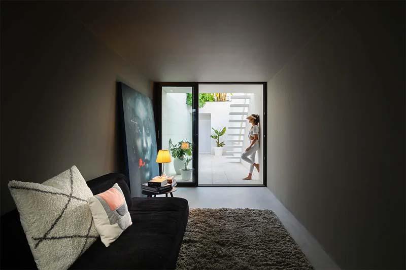woonkamer ideeen grote schilderij op de vloer