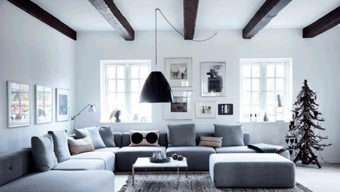 woonkamer ideeen hanglamp aan plafond verplaatsen
