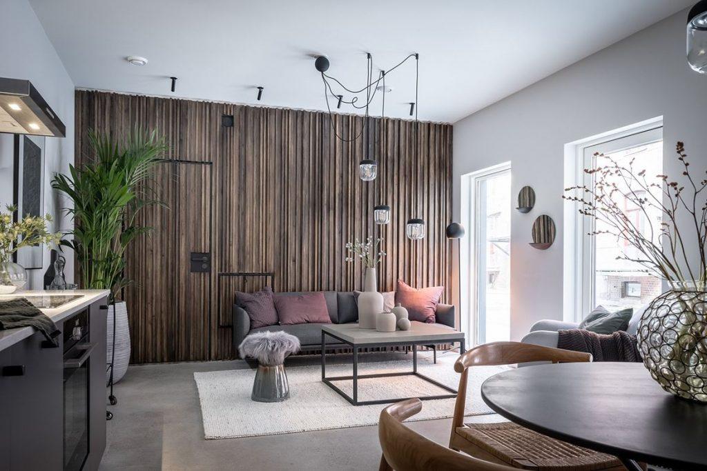 woonkamer ideeen meerdere hanglamp aan een lichtpunt