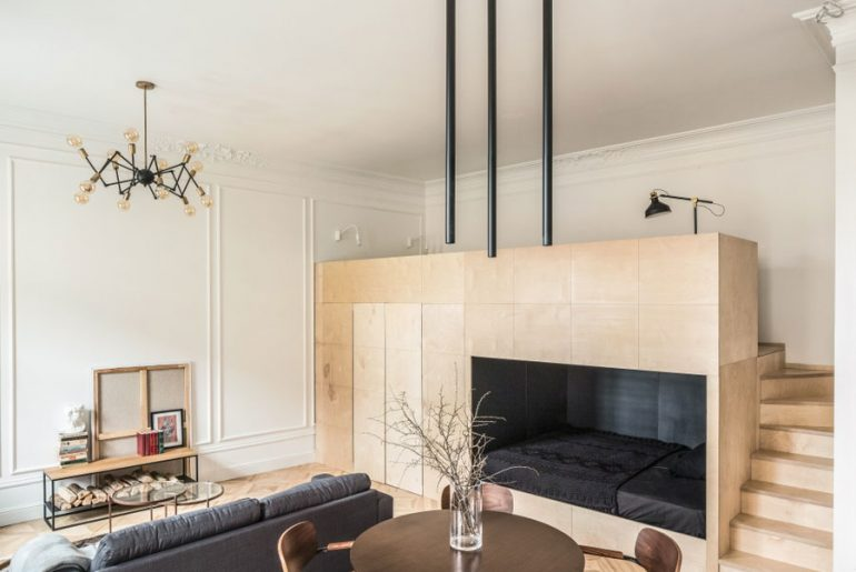 woonkamer ideeen multifunctionele mezzanine