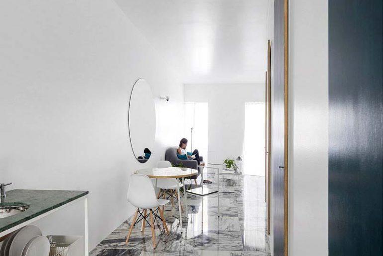 woonkamer ideeen smalle woonkamer inrichten