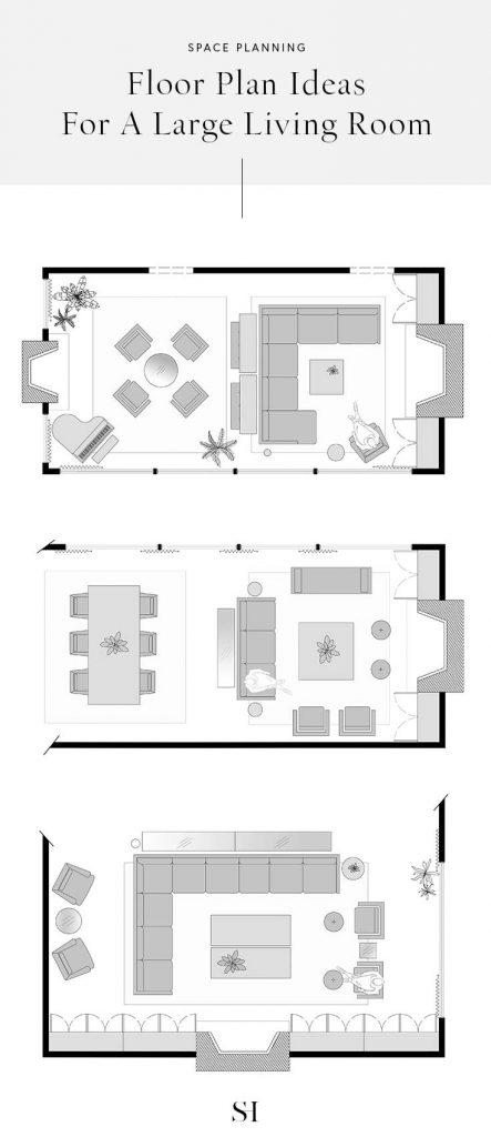 woonkamer inrichten indeling