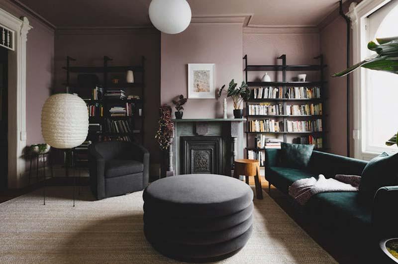 woonkamer inrichten muur kleur