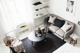 Zo richt je een klein appartement in van 21m2!