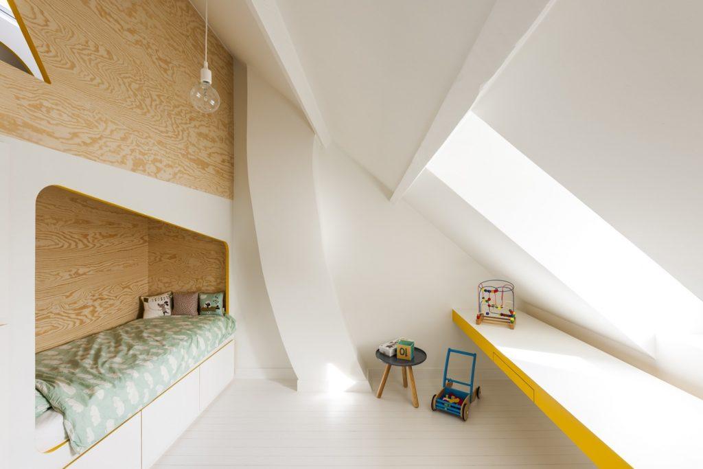 Kinderkamers Op Zolder : Deze zolder is een droom kinderkamer geworden! homease