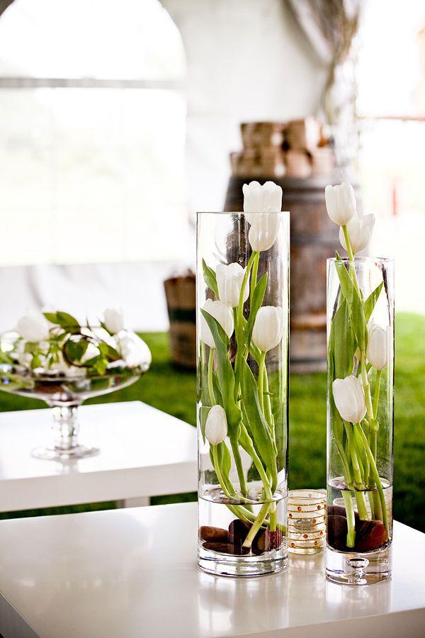 Zomers interieur bloemen