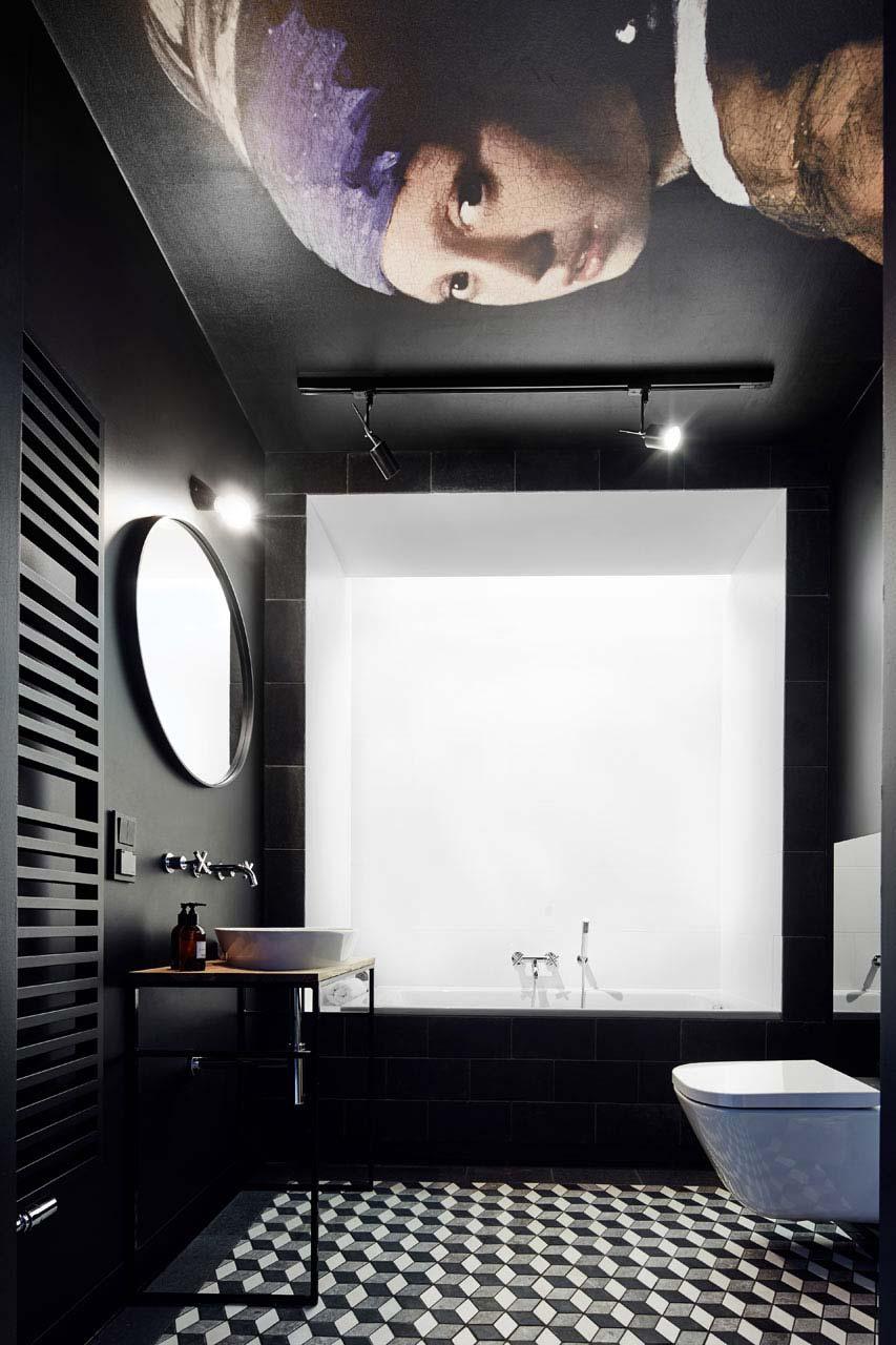 zwarte badkamer inspiratie