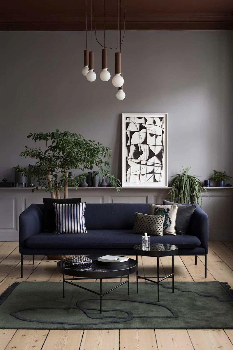 zwarte salontafels ferm living marble salontafel