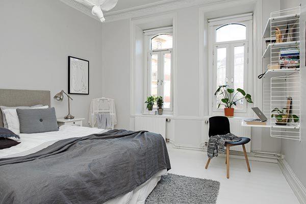 Zweedse Slaapkamer : Zweedse slaapkamer met authentieke details ...