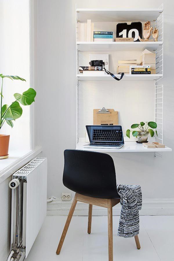 Zweedse slaapkamer met authentieke details