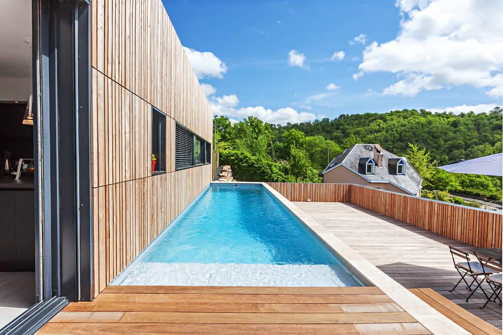 Zwembad Op Dakterras : Tuin dakterras combinatie homease