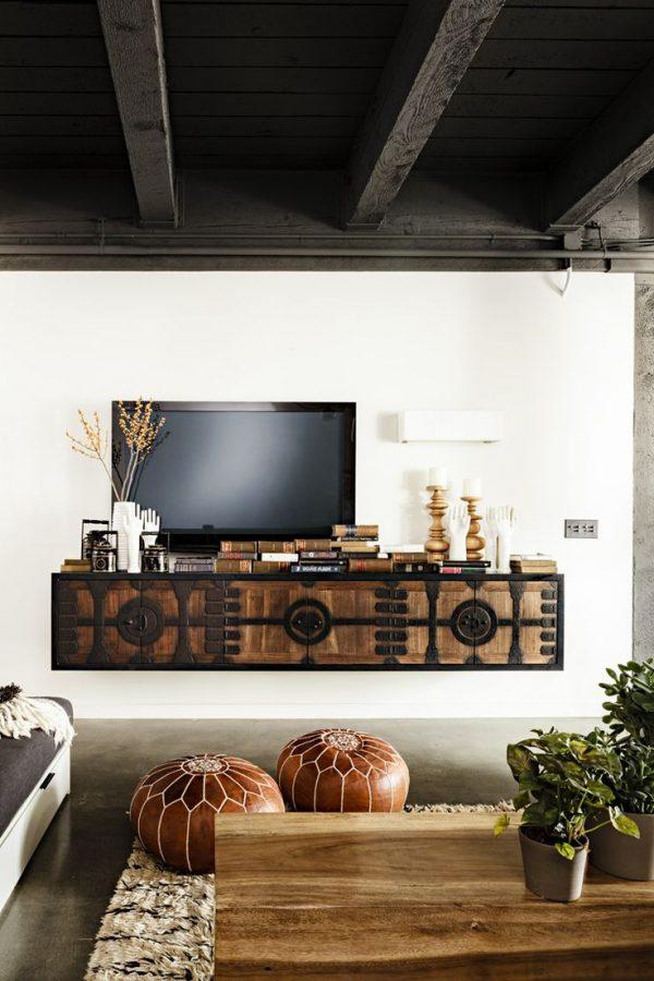 we jullie inspireren met leuke ideeën voor een zwevende TV meubel ...